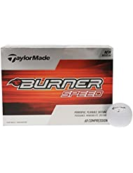 TaylorMade Burner Speed Bolas Blancas Golf pack 12