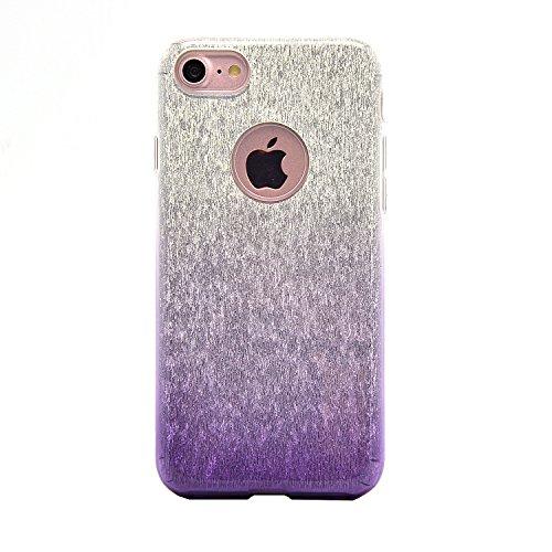 Sunroyal iPhone 7 Bling Diamant Kristall Crystal Hülle Transparent Durchsichtig Bumper Rahmen TPU Weich Bling Case / Hülle / Tasche Etui Schutzhülle für iPhone 7 (4.7 Zoll) Strass Handytasche Sparklin Pattern 18