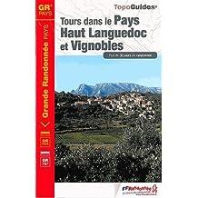 Tours dans le Pays Haut Languedoc et Vignobles GR3400 2014: FFR.3400