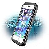 SPORTLINK Coque Étanche pour iPhone 7, iPhone 8 Waterproof Case, Certifiée IPX8 Imperméable Anti-Choc Anti-Poussière et Anti-Neige Housse Etui pour Apple iPhone 7/8 (Noir)