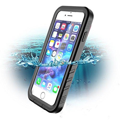 SPORTLINK iPhone 7 wasserdichte Hülle, iPhone 7 wasserdichte Hülle, Schutzhülle Ganzkörper Unterwasser Rugged Schale IP68 zertifizierter wasserdichter case für Apple iPhone 7 iPhone 8 (4.7 in)
