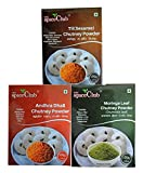 #8: Andhra Dhall Chutney Powder 100g + Moringa Leaf Chutney Powder 100g + Til (Sesame) Chutney Powder 100g