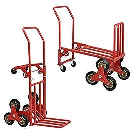 [in.tec] 2in1 carretto e carriola – Rosso