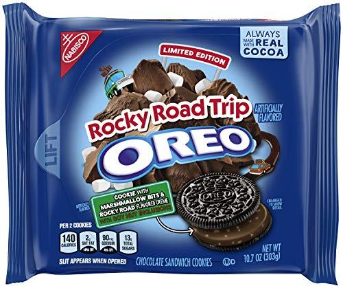 Preisvergleich Produktbild Oreo Limited Edition Rocky Road Trip Chocolate Sandwich Cookies - 10.7oz