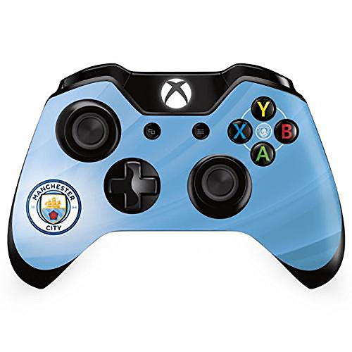 xBox One Controller Skin - Manchester City F.C - STICKER - Controller-manchester One Xbox