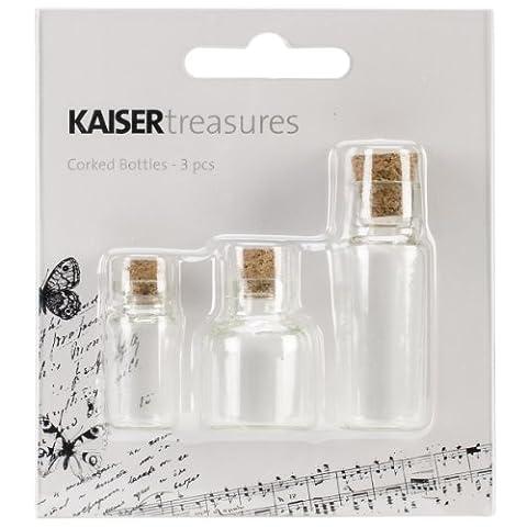 Kaiser Craft Corked Bottles