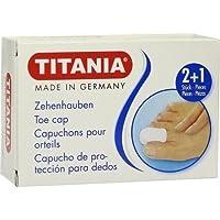 ZEHENHAUBEN 2 klein und 1 groß TITANIA 3 St preisvergleich bei billige-tabletten.eu