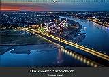 Düsseldorfer Nachtschicht (Wandkalender 2019 DIN A2 quer): Düsseldorfer Stadtansichten bei Nacht. (Monatskalender, 14 Seiten ) (CALVENDO Orte) - Alexander Gründel