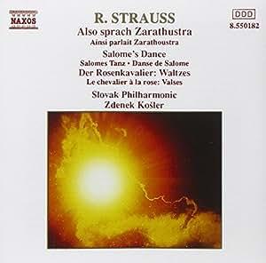 R Strauss: Also Sprach Zarathustra