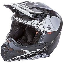 Fly Racing F2Carbon MIPS Retrospect Adult casco, bianco opaco/nero, taglia Small