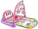 Fisher-Price Gimnasio Piano Pataditas Rosa, manta de juego bebé...