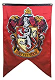 Harry Potter Complete 4 Banner Set - Gryffindor Slytherin Hufflepuff Ravenclaw House Flags Collection