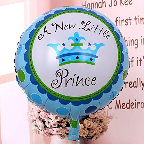 Layal Design Baby Shower Folienballon - Dekoration für eine It's a Boy Junge Babyparty