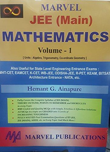 Marvel Mathematics For JEE ( Main ) - Vol 1