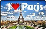 cadora rótulo magnético Frigorífico magnético I Love Paris II
