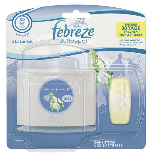 Febreze Duftdepot Frühlingserwachen Starter, 1er Pack (1 x 1 Stück) (Febreze Lufterfrischer Starter)