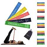 CIVAH widerstandsbänder naturlatex fitnessbänder Rallye gürtel Indoor Fitness Bein Muskel Pilates Yoga Rehabilitation Übung bänder