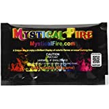 MYSTICAL Fire, Polvere Colorata per bracieri, Set di 10 bustine