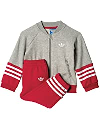 adidas Unisex-Kinder Jogginganzüge / Anzug Fleece Superstar
