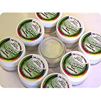 Rainbow Dust Commestibile Seta Brillantini Edibili Polvere - Perla Crushed Pine (Verde)
