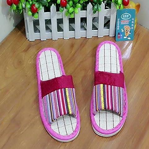 ZHLONG Moda donna pantofole tempo libero Home Interior , 1