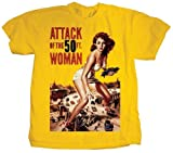 Attack Of The 50ft Woman T Shirt (Gelb) - X-Large