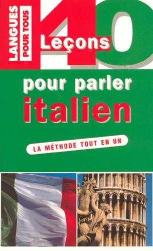 40 LECONS POUR PARLER ITALIEN (ancienne édition) par Paolo Cifarelli