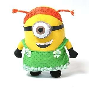 """Ich Einfach Unverbesserlich Film 10 """" Soft Puppe Spielzeug 3D-Augen Minion Stewart Girl Dress up schön"""