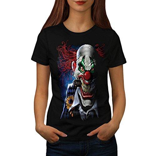 joker-clown-mask-death-horror-women-new-black-m-t-shirt-wellcoda