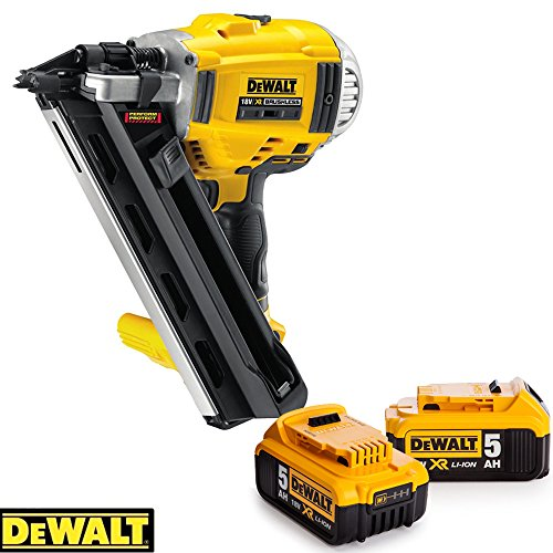 Dewalt-DCN692N-18V-li-ion-Brushless-Framing-Nailer-90mm-With-2-x-5ah-Batteries