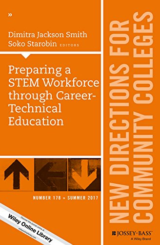 Preparing a STEM Workforce through Career-Technical Education: New Directions for Community Colleges, Number 178 (J-B CC Single Issue Community Colleges) (English Edition)