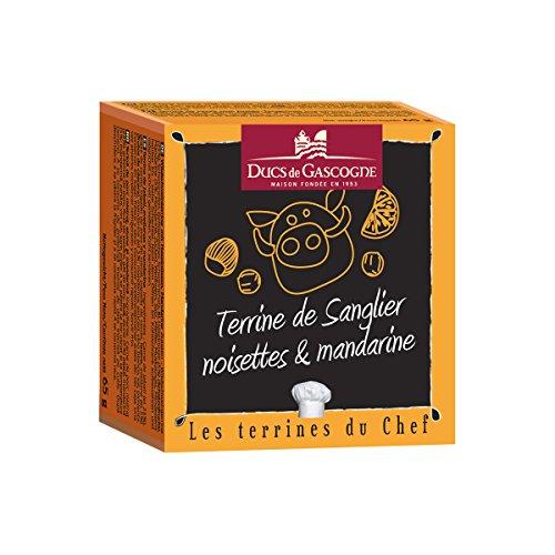 Ducs de Gascogne - Terrine de Sanglier, noisettes et mandarine 65g