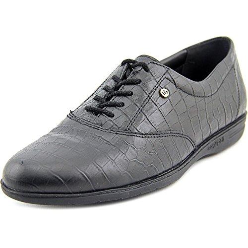 easy-spirit-motion-femmes-noir-etroit-cuir-chaussures-decontractees-eu-37