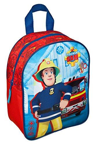 Undercover FSTU7630 Kindergartenrucksack, Feuerwehrmann Sam, ca. 28 x 22 x 10 cm