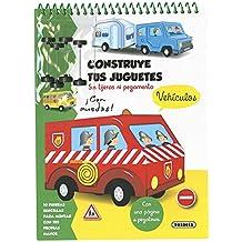 Vehículos (Construye tus juguetes)