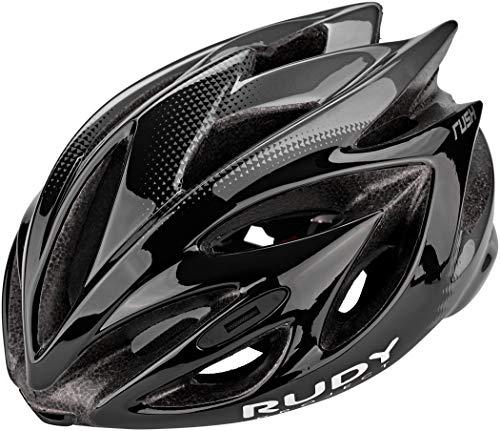 Rudy Project Rush Helmet Black/Titanium Shiny Kopfumfang M | 54-58cm 2020 Fahrradhelm