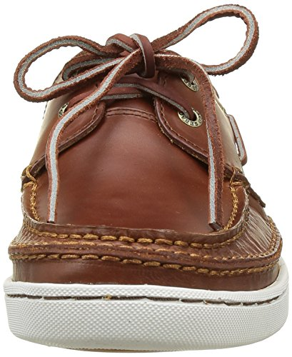 Sebago Ryde Two Eye, Chaussures bateau homme Marron (Brown Oiled Waxy)
