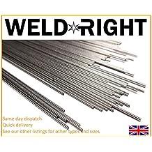 Weld Right - ER316L acero inoxidable de aporte TIG Varillas para soldar - 1,2
