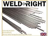 Weldright 10x Aluminium Alu 5356 Tig Filler Schweißdrähte 1.6mm