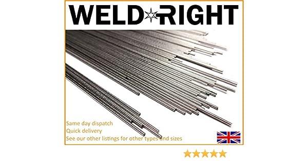Qtys 1.0-3.2mm Weldright Stainless Steel ER316L SS Tig Filler Welding Rod