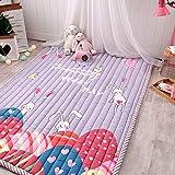 shuhong Tapis De Jeu Coussin Rampant Baby Kids Room Activity Floor Tapis Non Toxique Lavable,O-57x76inch