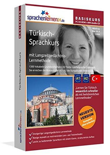 Sprachenlernen24.de Türkisch-Basis-Sprachkurs: PC CD-ROM für Windows/Linux/Mac OS X + MP3-Audio-CD...