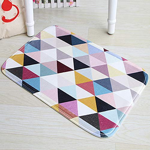 Stillshine - 3Dalfombra pequeña felpudos Tejidos Modernos de la Cocin