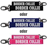 Neopren Schlüsselanhänger Border Collie