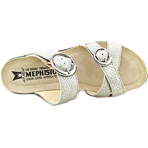 Mephisto Nuta Femmes Synthétique Sandale Nickel