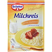 Dr. Oetker Milchreis Vanille-Geschmack, 16er Pack (16 x 125g)
