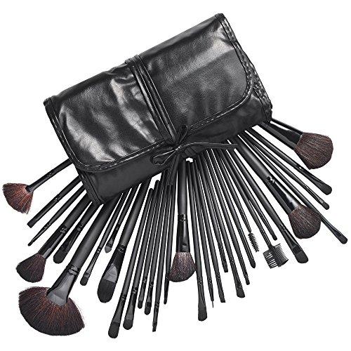 Beautify - 32pc Cosmétique set de brosse a maquillage kit avec étui
