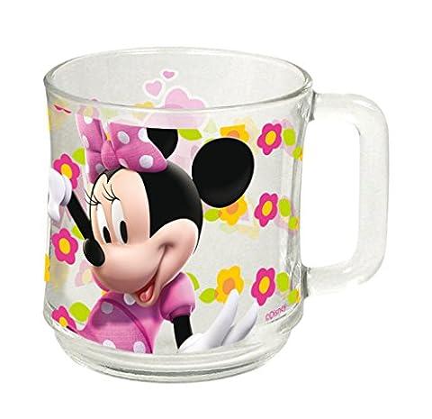 Disney Minnie Mouse Tasse Glastasse in Geschenkbox SM7198