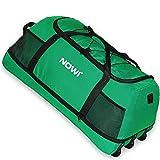 NOWI XXL Riesen Reisetasche mit 3 Rollen Volumen 100-135 Liter