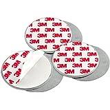 mumbi 3-er Set Magnetbefestigung für Rauchmelder und glatte Flächen nicht für Rauhfaser oder losen Putz
